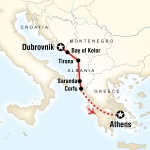 UIC Student Travel Adriatic Adventure–Dubrovnik to Athens for University of Illinois at Chicago Students in Chicago, IL