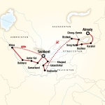 AASU Student Travel Central Asia – Multi-Stan Adventure for Armstrong Atlantic State University Students in Savannah, GA