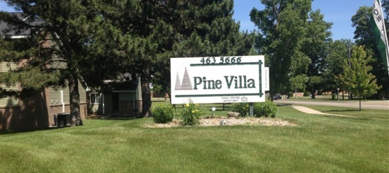 CMU Housing Pine Villa Apartments for Central Michigan University Students in Mount Pleasant, MI