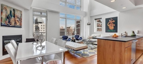 New York Housing UES Homes with 21' Ceilings, Fplc, Washer/Dryer & Views of the 59th St Bridge. CHECK BACK SOON FOR AVAIL HOMES for New York Students in New York, NY